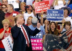 President Trump Holds Rally In Phoenix, Arizona - August 22, 2017