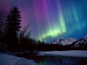 Priest Lake Northern Lights