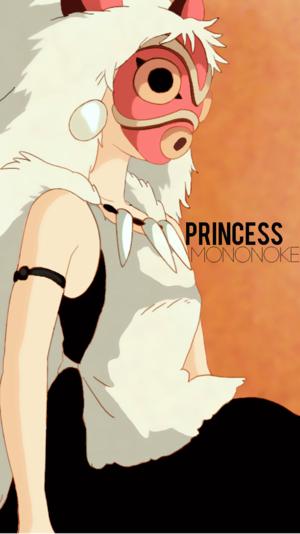 Princess Mononoke Phone 壁紙