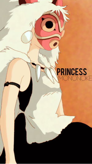 Princess Mononoke Phone Wallpaper