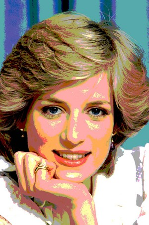 Princess diana posterization
