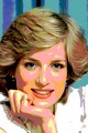 Princess diana posterization - princess-diana fan art