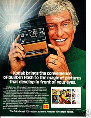 Promo Ad For Kodak Instant Camera