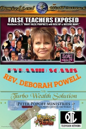 REV. DEPORAH POWELL SCAMS