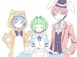 RGB Trio Dressup