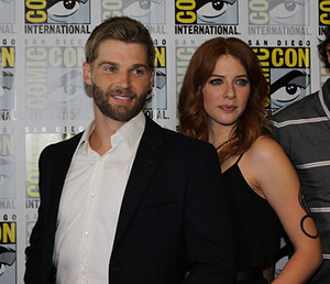 Rachelle and Mike Vogel