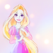 Rapunzel - disney-princess icon