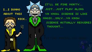 Rick and Morty Magic