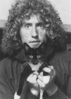 Roger Daltrey And His Cat