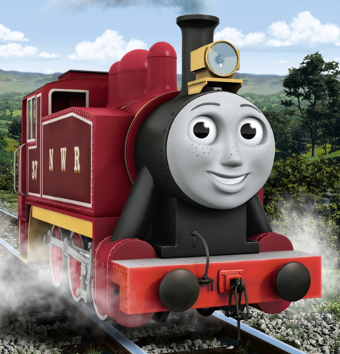 Thomas the Tank Engine wallpaper titled Rosie's new livery