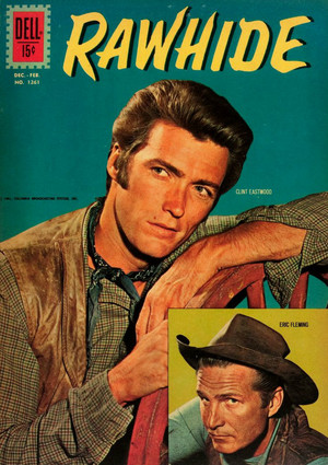 Rowdy and Gil Favor (Eric Fleming) Rawhide 1961