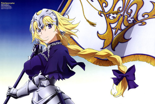 Fate Series 바탕화면 called Ruler (Apocrypha)