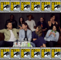 SDCC Supergirl Cast (a summary)