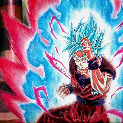 SON Goku SSGSS KAIOKEN