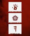 SPN Symbols - supernatural fan art