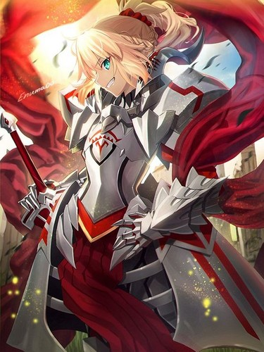 Fate Series 바탕화면 called Saber Of Red (Apocrypha)
