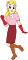 Sally Swing as Claire Standish Anime Render - betty-boop photo