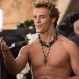 Sam Claflin As Finnick Odair In Hunger Games