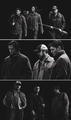Sam, Dean and Bobby - supernatural fan art