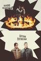Sam and Dean - supernatural fan art