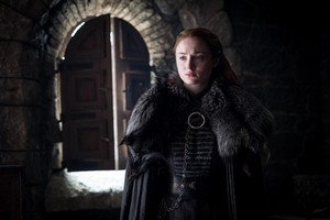 Sansa Stark 7x06 - Beyond the দেওয়াল