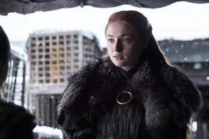 Sansa Stark 7x06 - Beyond the दीवार
