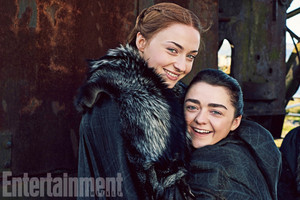 Sansa and Arya Stark (EW Season 7)