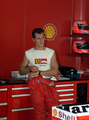 Schumi at the Ferrari paddock - michael-schumacher photo