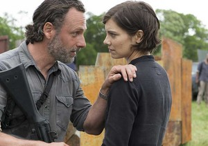 Season 8 ~ Rick and Maggie