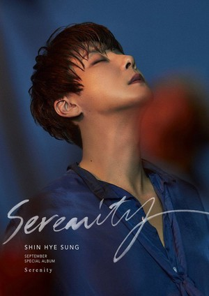 Shinhwa's Hyesung exercises 'Serenity' in main teaser image for his solo comeback