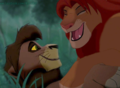 Simba and Kovu  - the-lion-king fan art