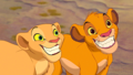 Simba and Nala  - the-lion-king wallpaper