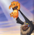 Simba and Rafiki  - the-lion-king photo