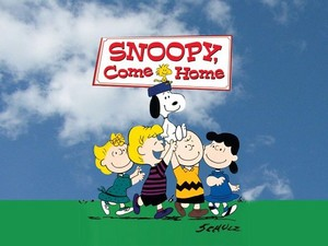 Snoopy, Come home pagina