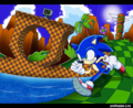 Sonic Green Hill Zone 5 - sonic-the-hedgehog photo