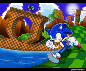 Sonic Green burol Zone 5