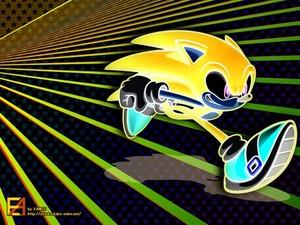Sonic auf Richtiger Spur
