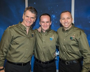 Soyuz MS 05 Mission Crew