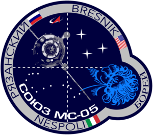 Soyuz MS 05 Mission Patch