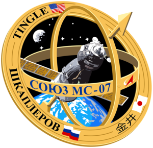 Soyuz MS 07 Mission Patch
