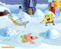 spongebob-squarepants - Spongebob Christmas wallpaper