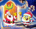 Spongebob Christmas wallpaper - patrick-star-spongebob wallpaper