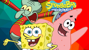 Spongebob, Patrick and Squidward wolpeyper