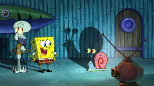 Spongebob, Squidward and Gary