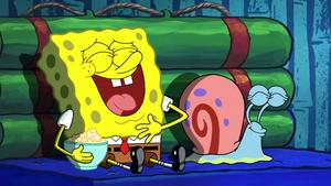Spongebob and Gary