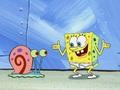 spongebob-squarepants - Spongebob and Gary wallpaper