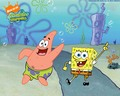 Spongebob and Patrick - patrick-star-spongebob wallpaper