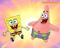 spongebob-squarepants - Spongebob and Patrick wallpaper