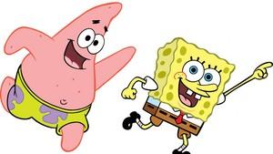 Spongebob and Patrick achtergrond