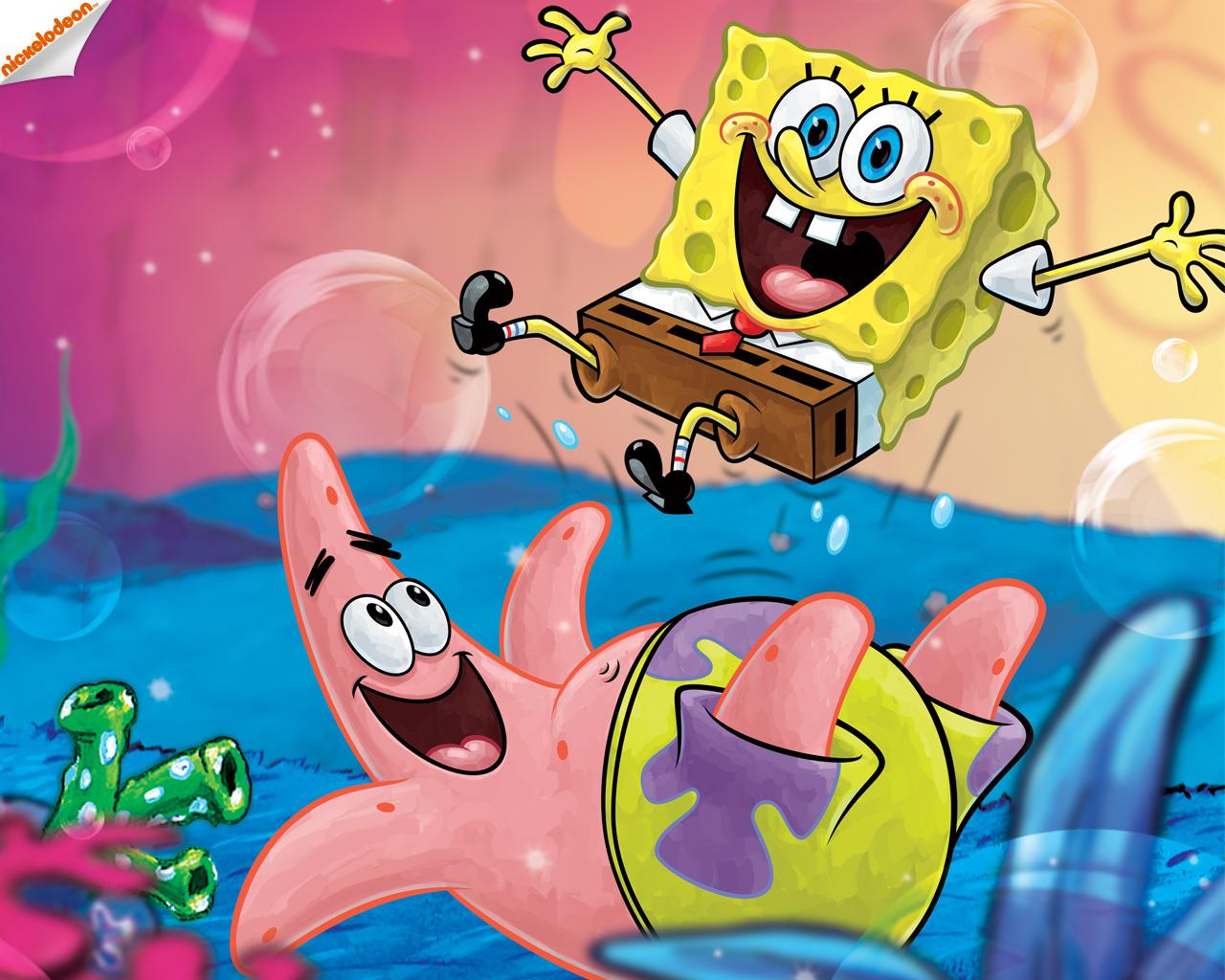 Spongebob Squarepants Images Spongebob And Patrick Wallpaper Hd
